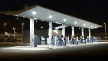 benzinova stanice